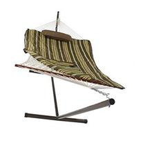 Sunnydaze Desert Stripe Cotton Rope Hammock with 12 Foot
