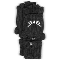 Karl Lagerfeld Designer Women's Gloves Choupette Black Wool