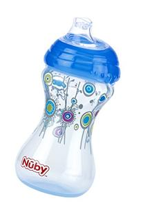 Nuby 2-Pack Designer Series No-Spill Clik-It Cups with Spout
