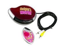 Hasbro Designer's World TV Plug-In Game