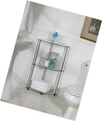 Convenience Concepts Designs2Go Go-Accsense 3-Tier Glass