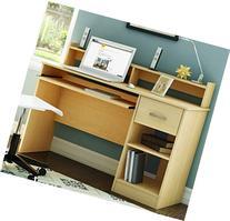 South Shore Small Desk in Amazing Natural Maple Finish -
