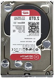 WD Red Pro 2TB NAS Hard Disk Drive - 7200 RPM SATA 6 Gb/s