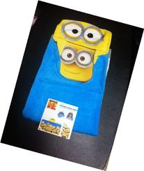 Despicable Me Minion Hooded Bath Towel Wrap