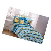 Despicable Me Minions 3-Piece Flannel Twin Sheet Set