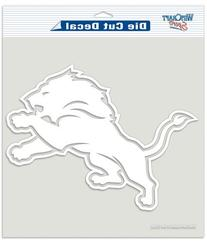 Detroit Lions 8x8 Die Cut Window Decal