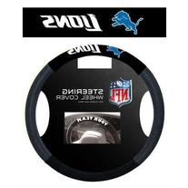 Detroit Lions NFL Poly-Suede Steering Wheel Cover