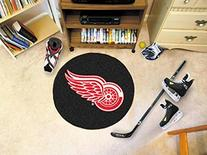 Detroit Red Wings NHL Puck Mat