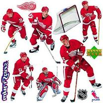 Upper Deck Detroit Red Wings NHL Wall Stars