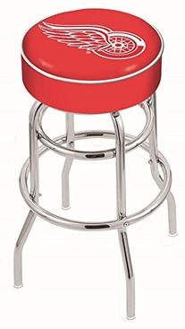 Holland Bar Stool NHL L7C1 Detroit Red Wings Swivel Counter