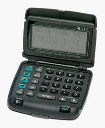 Seiko DF4022 World Travel Alarm Clock and Phone Organizer