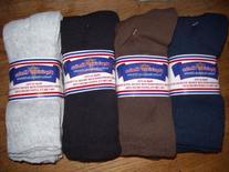 Diabetic Socks 10-13 Mens CREW LENGTH,Physicians Choice,12