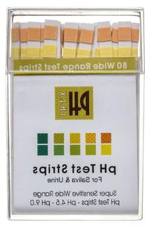 Phinex Diagnostic Ph Test Strips, 80ct -2 pack  Results in