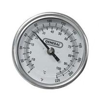 36 X 3 Dial Soil Thermometer 0 To 220 F With 1/2 Npt Fitting