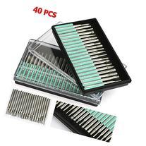 World Pride 40pcs Diamond Burr Bits Drill Kit For Engraving