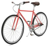 Diamond 3-Speed City Coaster Commuter Bicycle, Coral, 53cm/