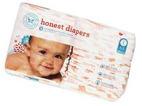 The Honest Company Disposable Diapers, Giraffe, Size 1, 44