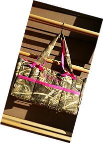 Diaper bag, baby bag, Camouflage, custom 6 pocket bag with