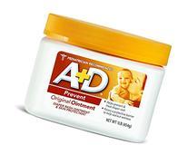 A&D Original Diaper Ointment 1 Pound Per Jar, 2 Pack