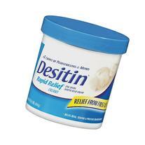 Desitin Diaper Rash Cream, Rapid Relief, Creamy 16 oz