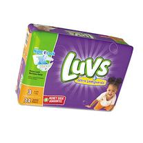Luvs - Diapers Size 3: 16 To 28 Lbs 34/Pack 4 Pack/Carton ""