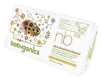 Babyganics Diapers - Newborn - 36 ct