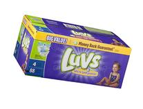 Luvs Diapers Ultra Leakguards With Night Lock Size 4 22-37