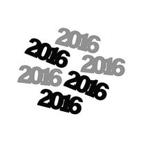 Creative Converting 6 Count Die-Cut 2016 Party Decoration,