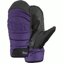 Neff Women's Digger Mitten, Purple/Black, Medium