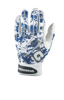 DeMarini Digi Camo Batting Glove, Royal Blue, Large