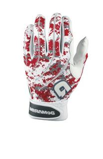 DeMarini Digi Camo Batting Glove, Scarlet Red, Large