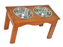 Crown Pet Products Diner Bowl, Large, Chestnut