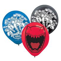 Power Rangers Dino Charge 1234; Latex Balloons