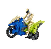 """Power Rangers Dino Super Charge - Dino Cycle with 5"""" Gold"""
