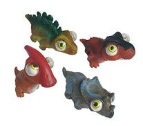Dinosaur Assortment Squeeze N Pop Toys - Poppin Peepers - 4