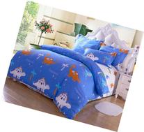 Cliab Dinosaur Bedding Set Kids Queen Size Bedding Sheets