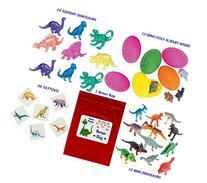 84 pc Dinosaur Kid's Birthday Party Favor Bundle Pack