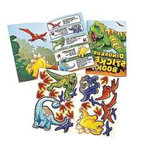 Dinosaur Birthday Party Favors for 12 - 12 Dinosaur Sticker