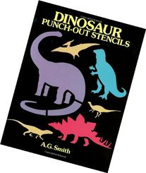 Dinosaur Punch-Out Stencils