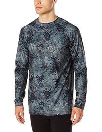 686 Men's Direct Base Layer Top, Black, Large