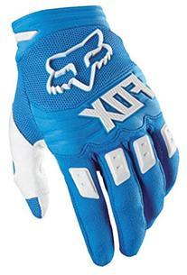Fox Men's Dirtpaw Race Gloves, Blue, Large