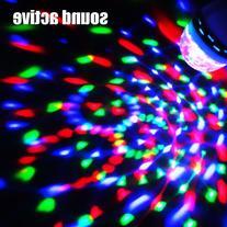 Zitrades E27 3W Led Magic Ball Strong Beams Sound Activated