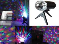 WOWTOU Rotating House Party Crystal Disco Ball LED Stage
