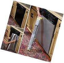 "Dishwasher Instant Peel and Stick Stainless Steel 26"" X 36"