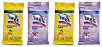 Lysol Disinfecting Wipes, On the Go Travel Size, Lemon and