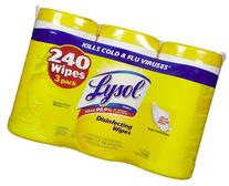 Lysol Disinfecting Wipes Value Pack, Lemon & Lime Blossom,