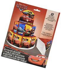 Disney Cars Favor Box Centerpiece Decoration for 8