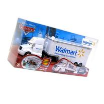 Disney Cars Walmart Wally Hauler Diecast Car Playset