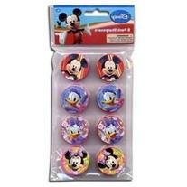 Disney Mickey Clubhouse Mickey and Friends 8pk Round