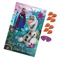 Disney Frozen Birthday Party Game Activity Supplies , Multi